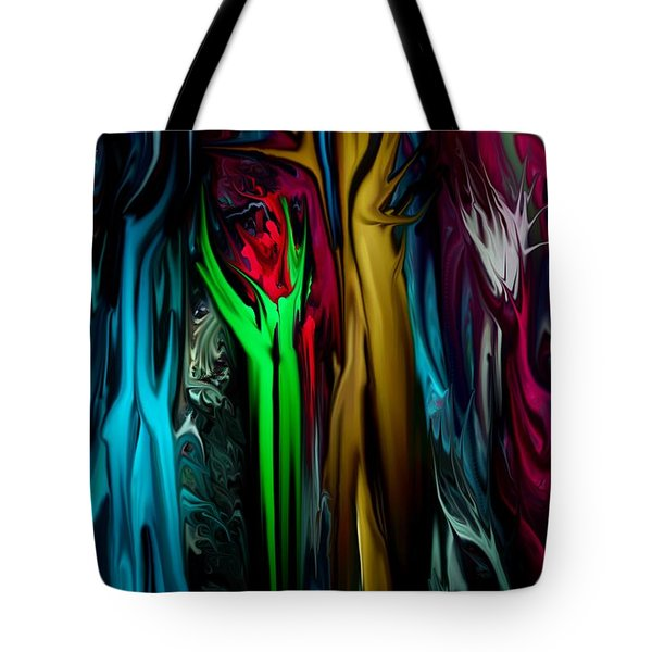 Abstract 7-09-09 Tote Bag by David Lane