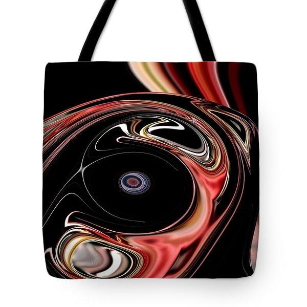 Abstract 7-26-09-b Tote Bag by David Lane