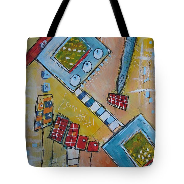 Abstract 74 Tote Bag