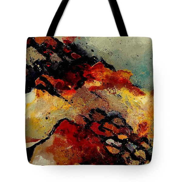 Abstract 780707 Tote Bag by Pol Ledent
