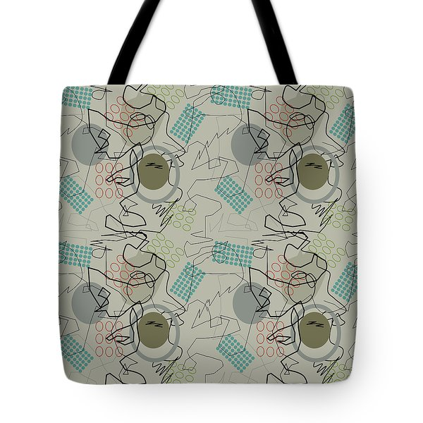 Tote Bag featuring the digital art Abstract 8 by April Burton