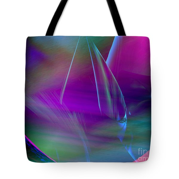 Tote Bag featuring the painting Abstract 845 by Gerlinde Keating - Galleria GK Keating Associates Inc