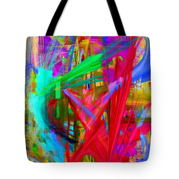 Abstract 9028 Tote Bag