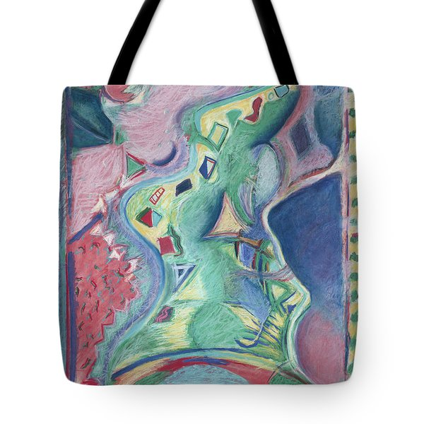 Abstract 92 - Inner Landscape Tote Bag