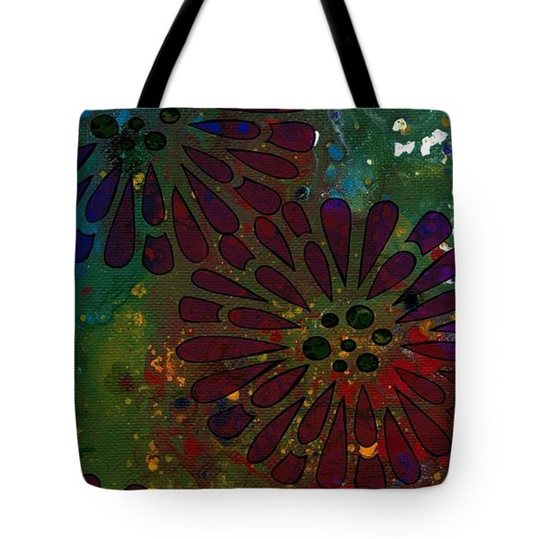 Abstract Acrylic Painting Colorful Spring I Tote Bag