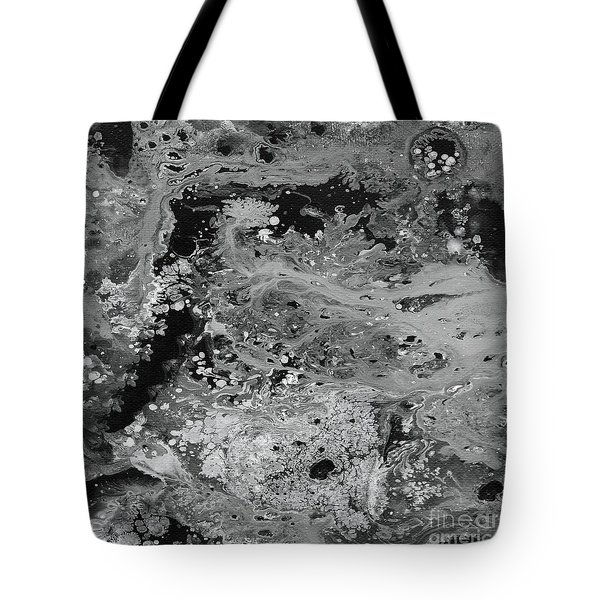 Abstract Acrylic Painting The Night Tote Bag by Saribelle Rodriguez