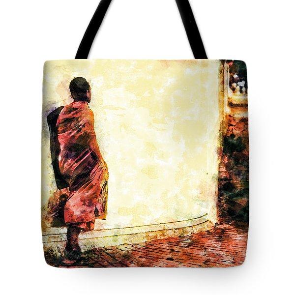 Abstract And Bold Tote Bag