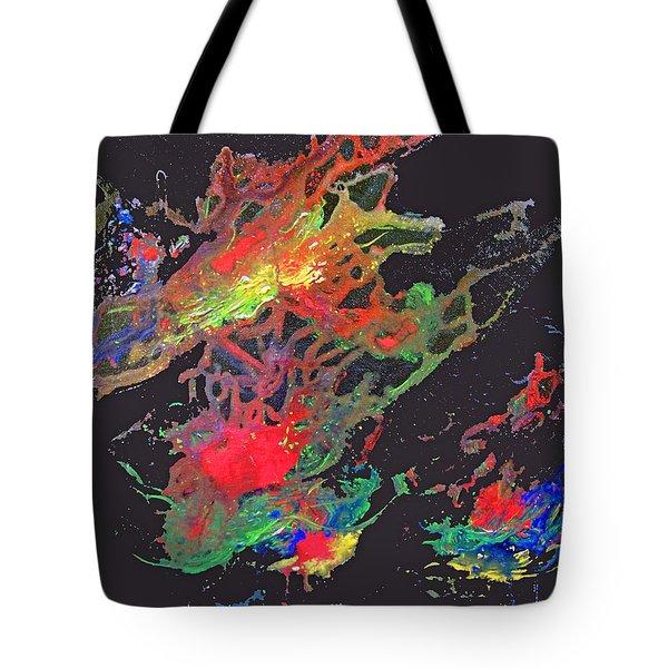 Abstract Andromeda Tote Bag