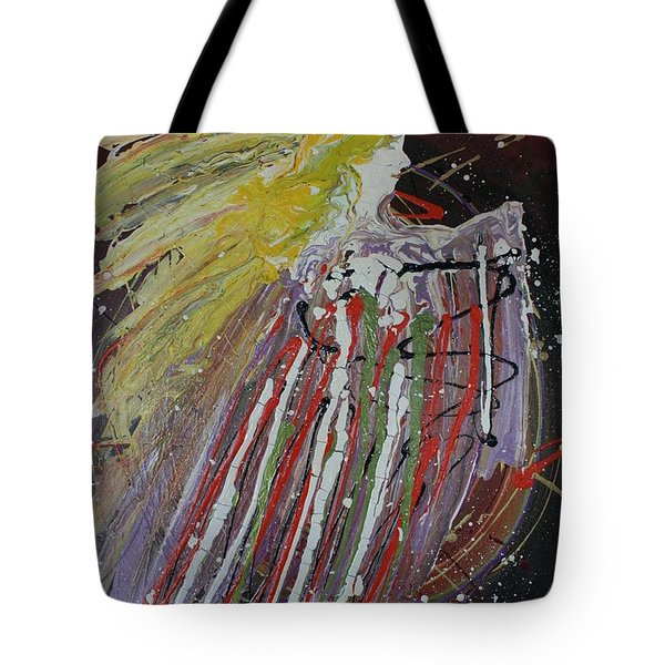 Abstract Angel Tote Bag
