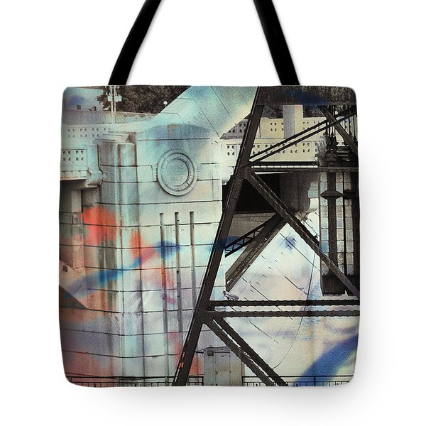Abstract Architecture Tote Bag by Susan Stone
