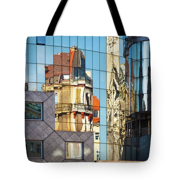 Abstract Architecture Tote Bag by Teemu Tretjakov