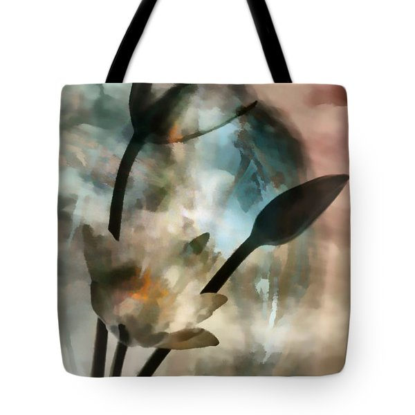 Tote Bag featuring the painting Abstract Art  A Special Place In Heaven by Sherri  Of Palm Springs