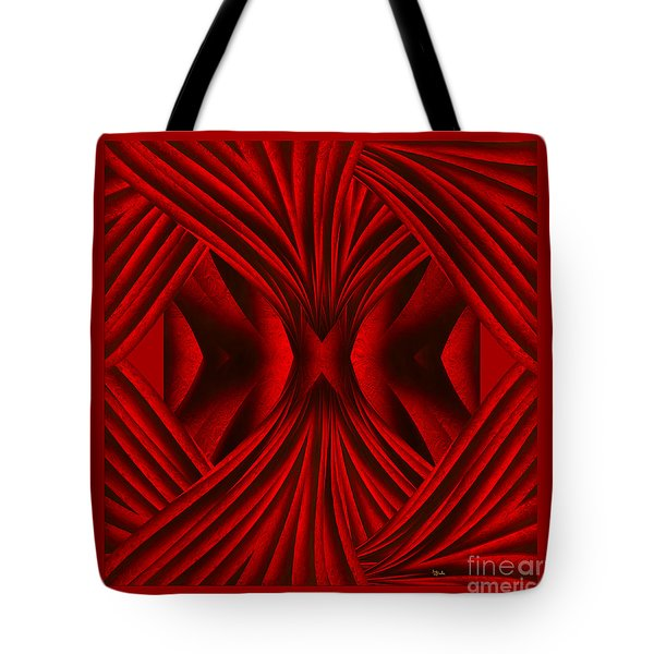 Abstract Art - Hot Secrets By Rgiada Tote Bag