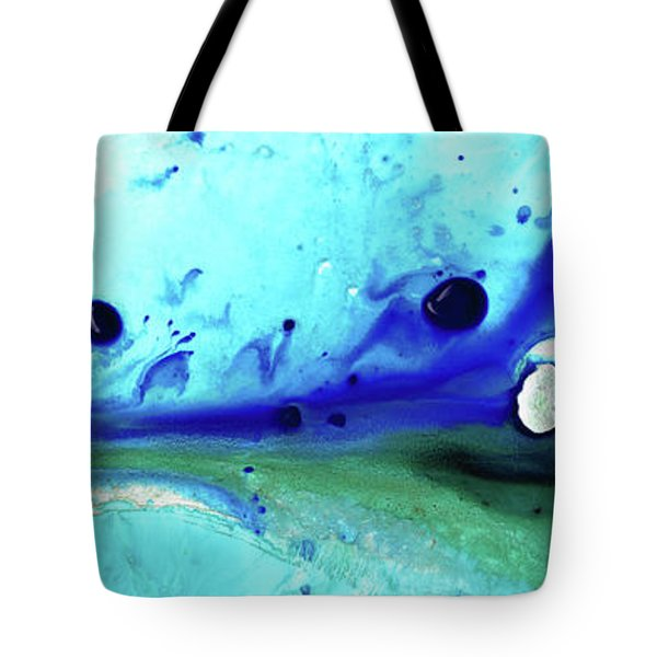 Abstract Art - Making Waves - Sharon Cummings Tote Bag