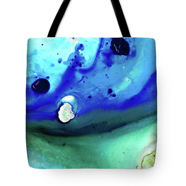Abstract Art - Making Waves - Sharon Cummings Tote Bag by Sharon Cummings