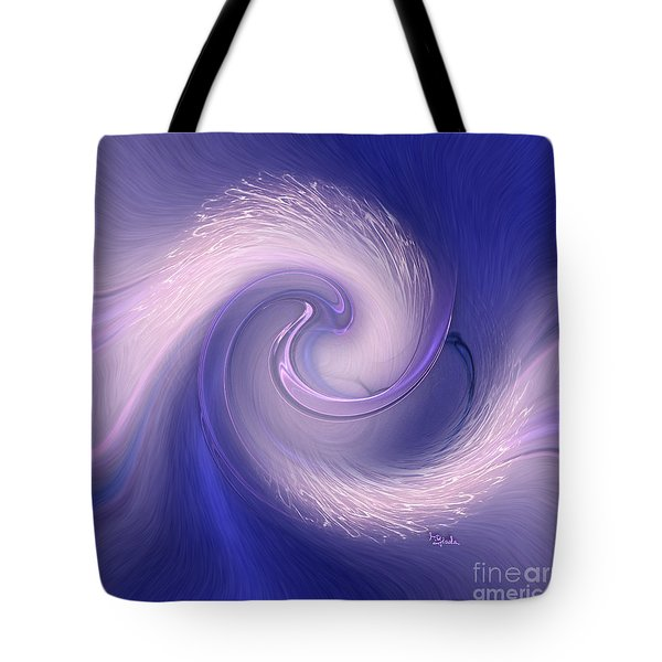 Abstract Art - The Wave By Rgiada Tote Bag by Giada Rossi