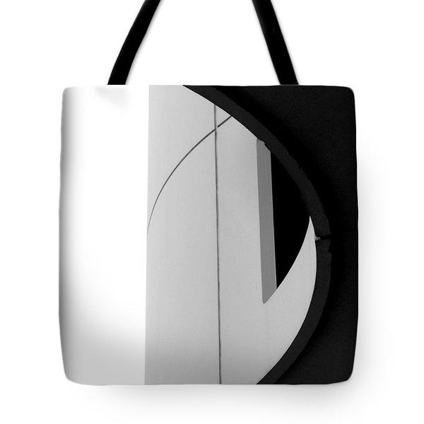 B / W   Abstract  Tote Bag