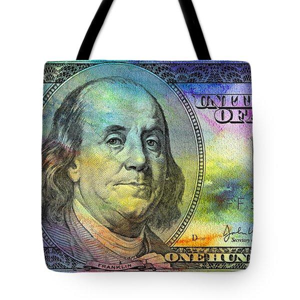 Abstract Ben Tote Bag