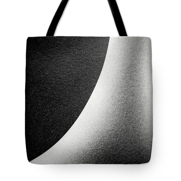 Abstract-black And White Tote Bag