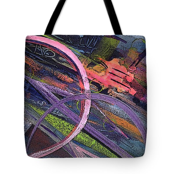 Abstract Blast Tote Bag