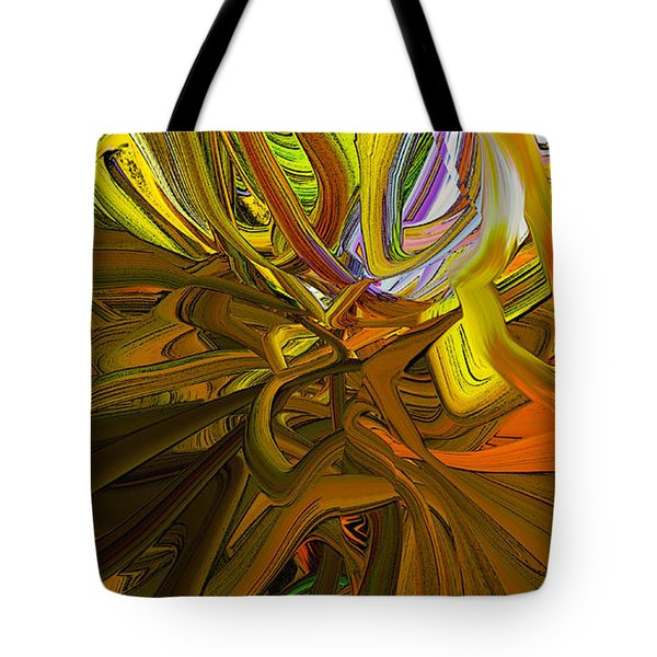 Abstract Blend 44 Tote Bag
