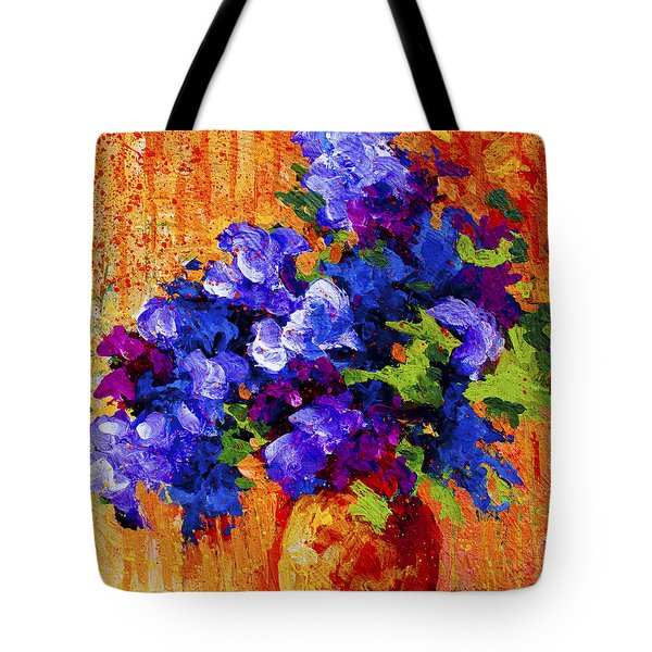 Abstract Boquet 3 Tote Bag