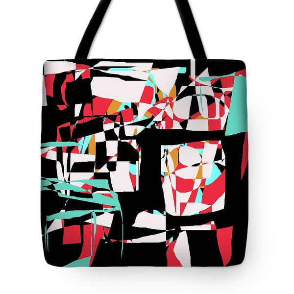 Abstract Boxes Tote Bag by Jessica Wright