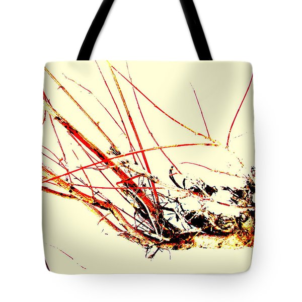 Tote Bag featuring the photograph Abstract Branch by Fred Wilson