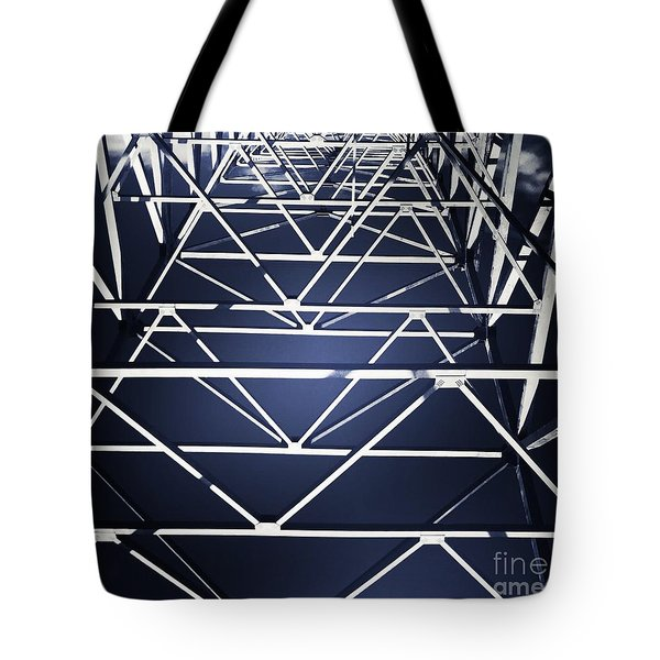 Abstract Bridge Tote Bag