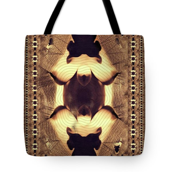 Abstract Burlesque By Mb Tote Bag