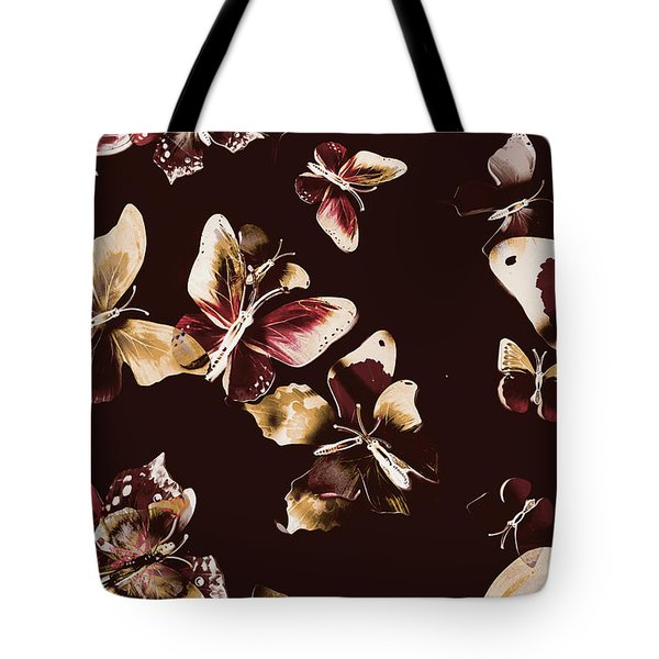 Abstract Butterfly Fine Art Tote Bag