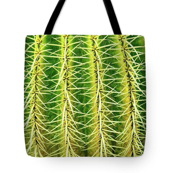 Abstract Cactus Tote Bag by Delphimages Photo Creations