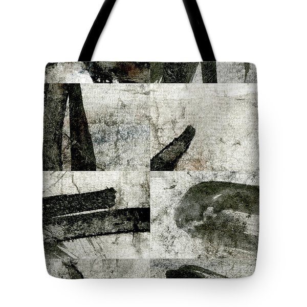 Abstract Calligraphy Collage 1 Tote Bag