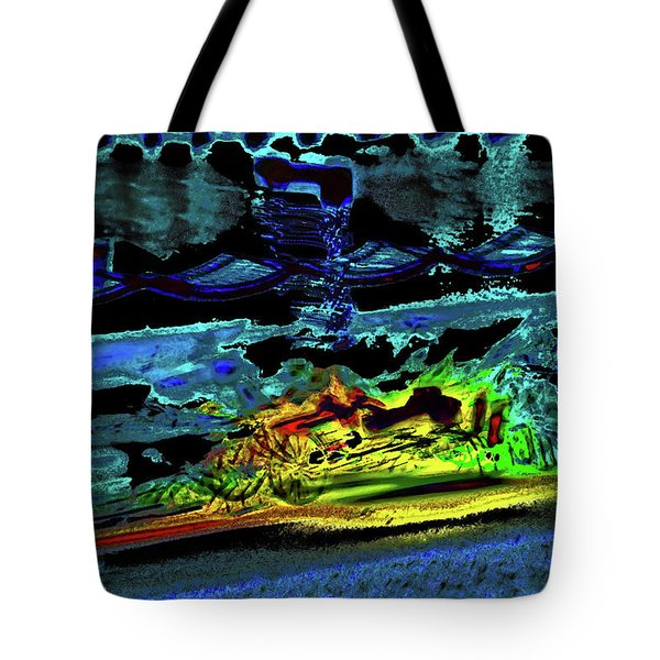 Abstract Carriage Ride Tote Bag