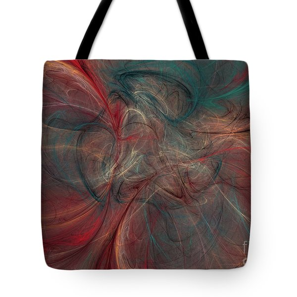 Abstract Chaotica 10 Tote Bag