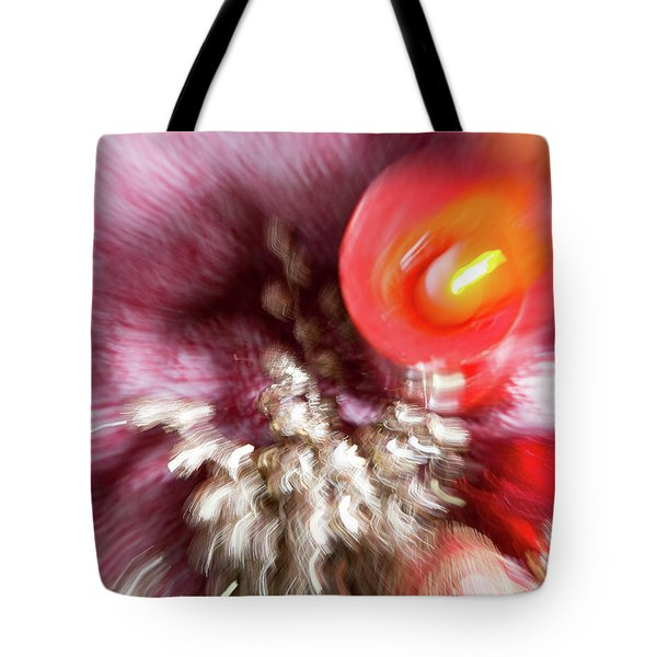 Tote Bag featuring the photograph Abstract Christmas 4 by Rebecca Cozart
