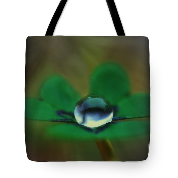 Abstract Clover Tote Bag