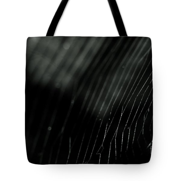 Abstract Cobweb Tote Bag