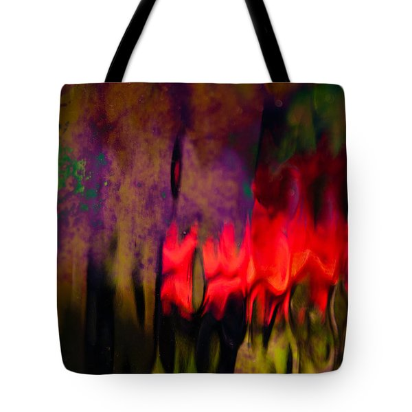 Tote Bag featuring the photograph Abstract Color by Erin Kohlenberg