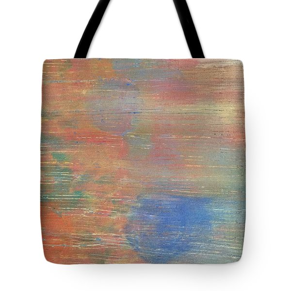 Tote Bag featuring the painting Abstract Confetti 3 by Paula Brown
