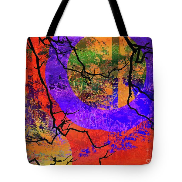 Abstract Configuration Tote Bag by Robert Ball
