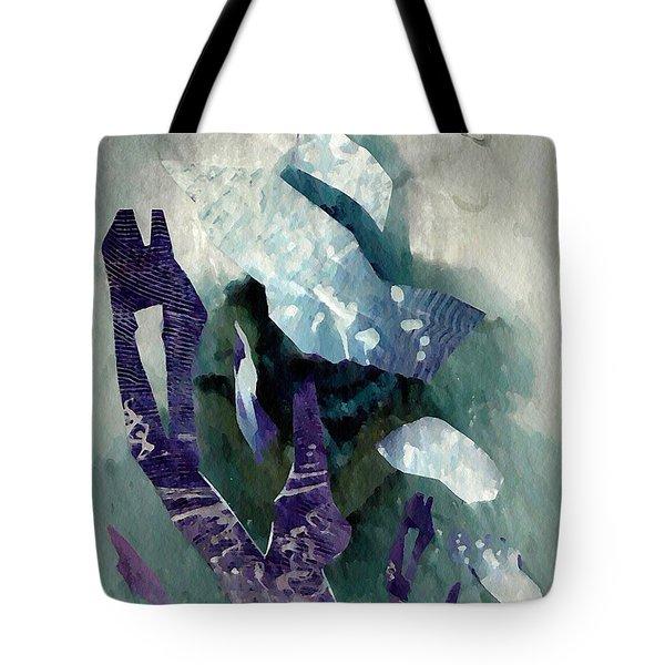 Abstract Construction Tote Bag by Sarah Loft