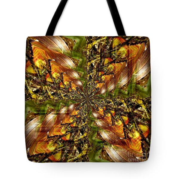 Abstract Cornfield 1 Tote Bag