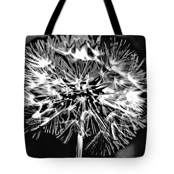 Abstract Dandelion Tote Bag