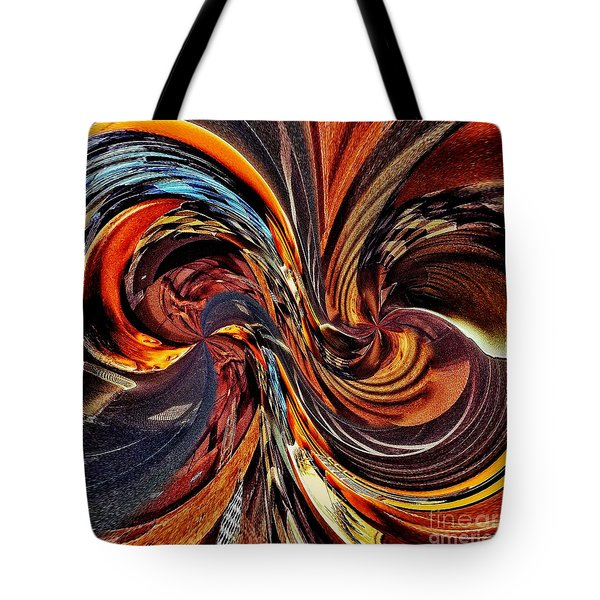 Abstract Delight Tote Bag by Blair Stuart
