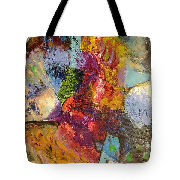 Abstract Depths Tote Bag