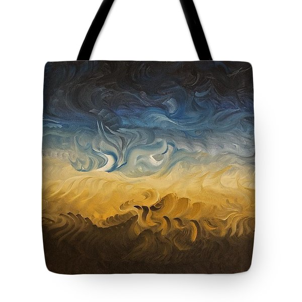 Abstract Desert Tote Bag