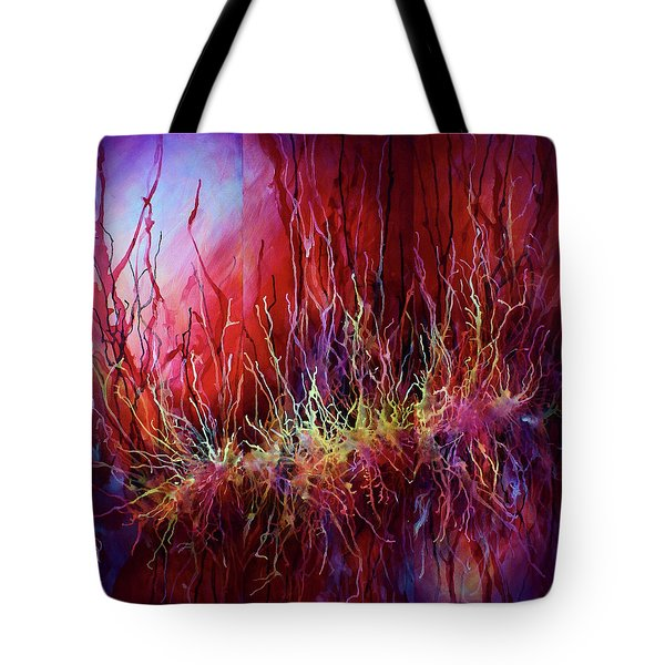 Abstract Design 110 Tote Bag by Michael Lang
