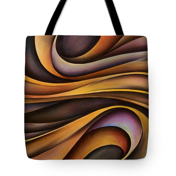 Abstract Design 31 Tote Bag by Michael Lang
