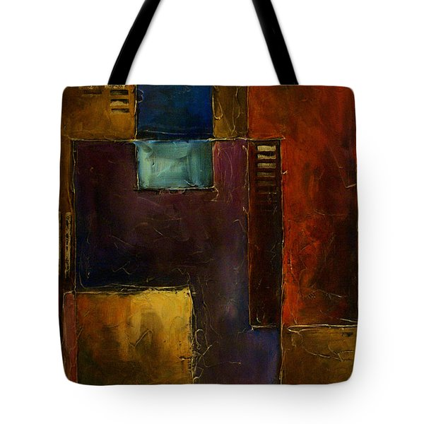 Abstract Design 65 Tote Bag by Michael Lang